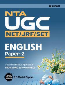 Arihant NTA UGC (NET/JRF/SET) ENGLISH Literature Paper 2
